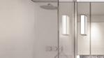 Chrome Framed Glass Bath Screen