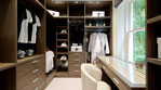 Bespoke Fitted, Sensor Lighting, Dressing Table, Lutron Mood Lighting