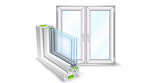 Double Glazed, PVC-u
